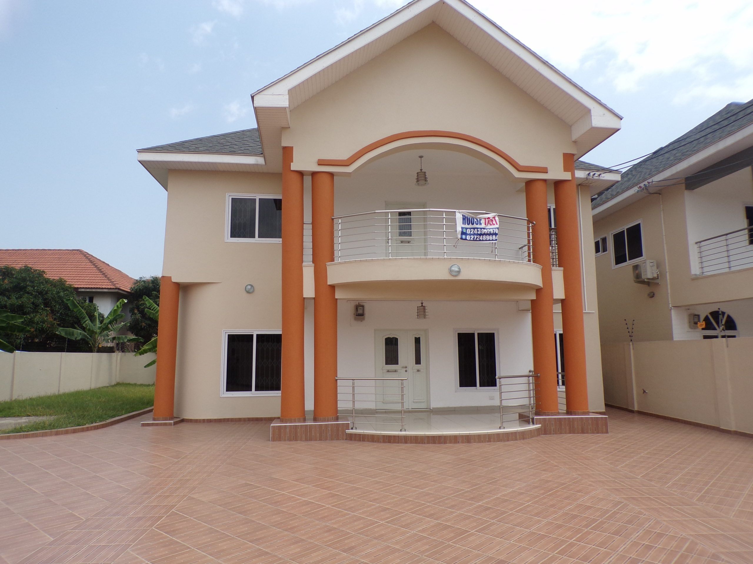 4 bedroom House for Rent in Adjiringanor