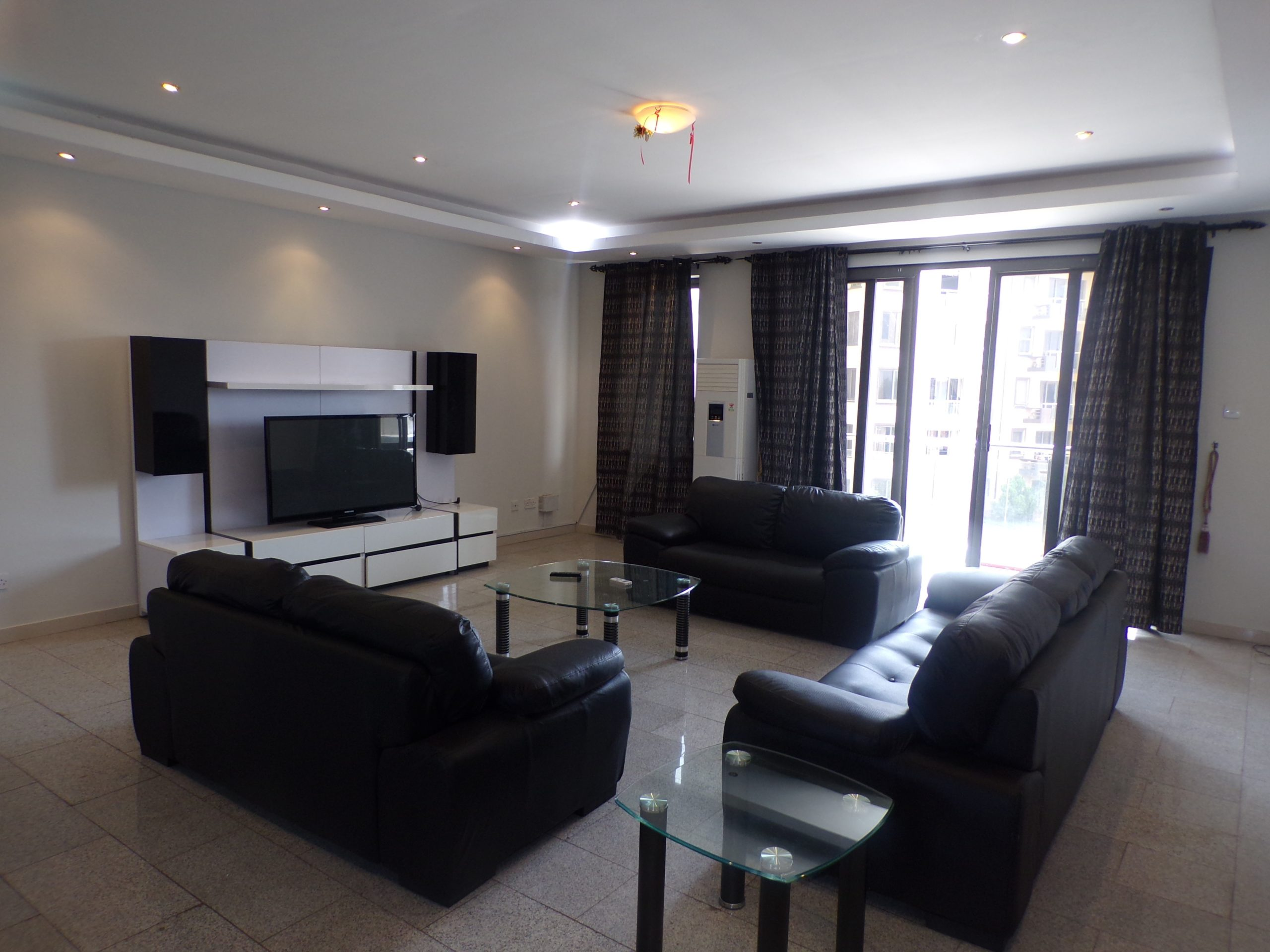 3 BEDROOM FURNISHED APARTMENT FOR RENT AT AIRPORT RESIDENTIAL