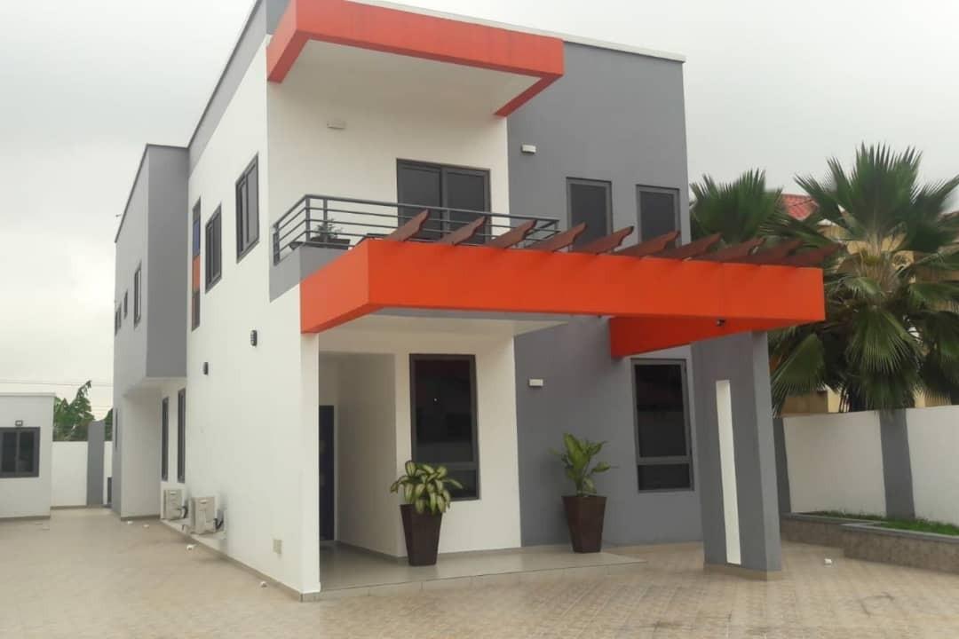 4 BEDROOM FURNISHED HOUSE FOR RENT IN EAST LEGON