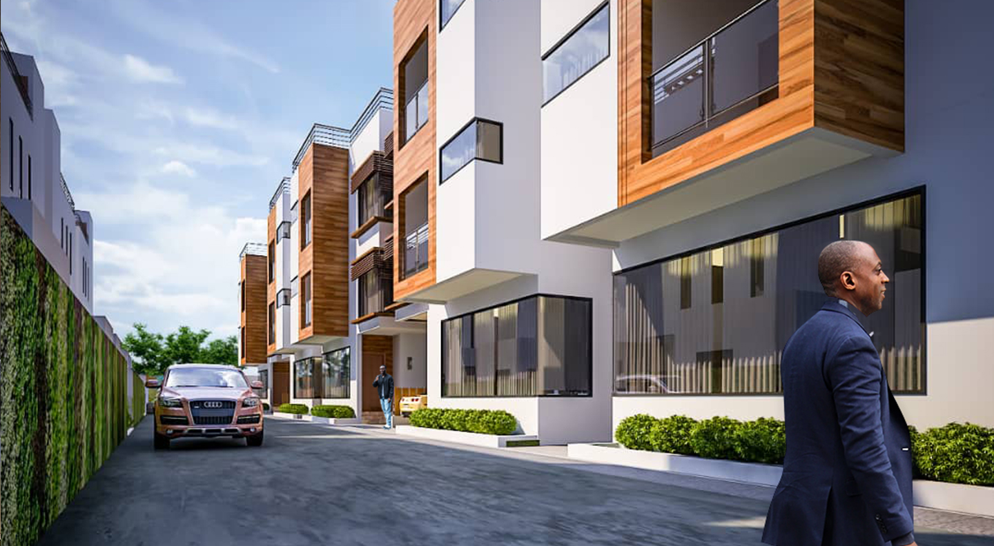 4 BEDROOM TOWNHOUSE FOR SALE AT NORTH DZORWULU
