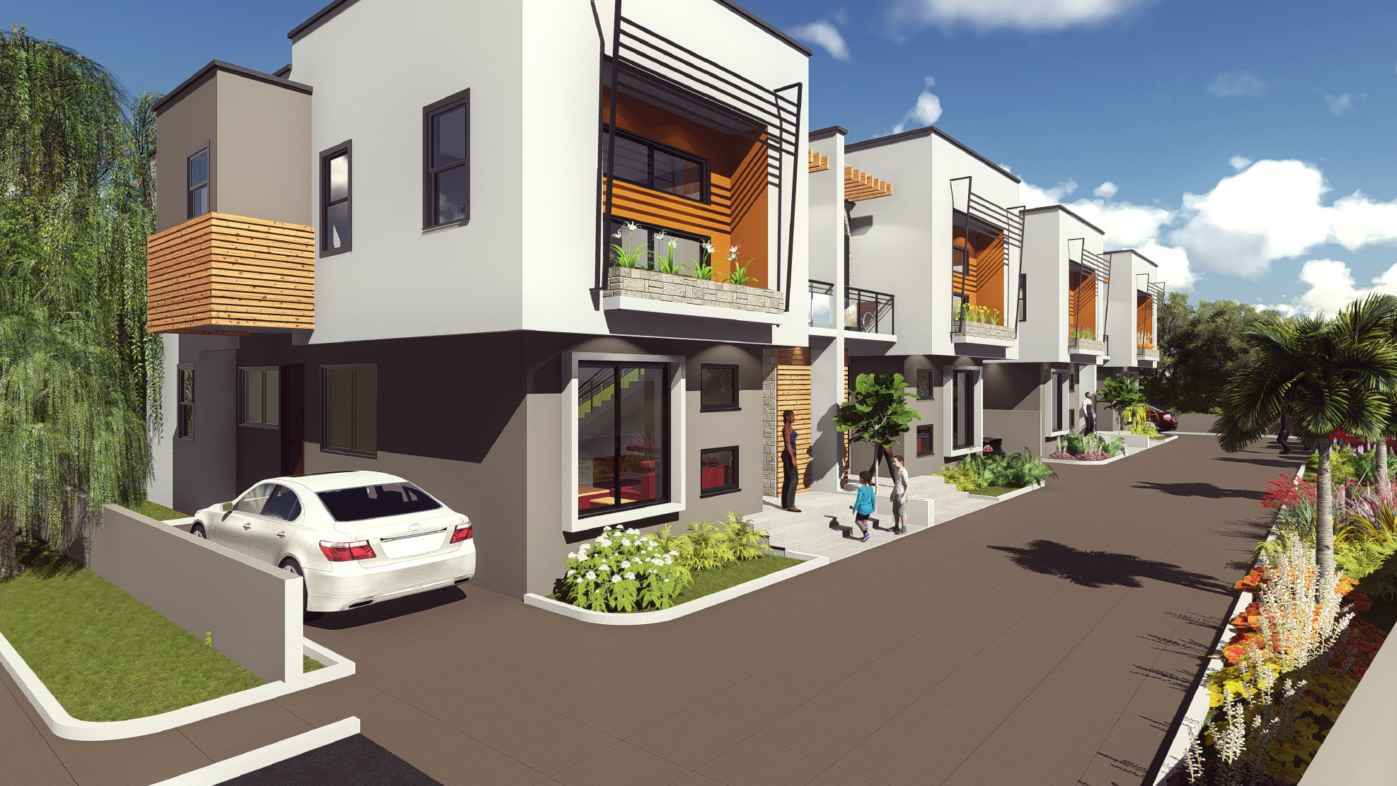 4 BEDROOM TOWNHOUSE FOR SALE AT EAST AIRPORT