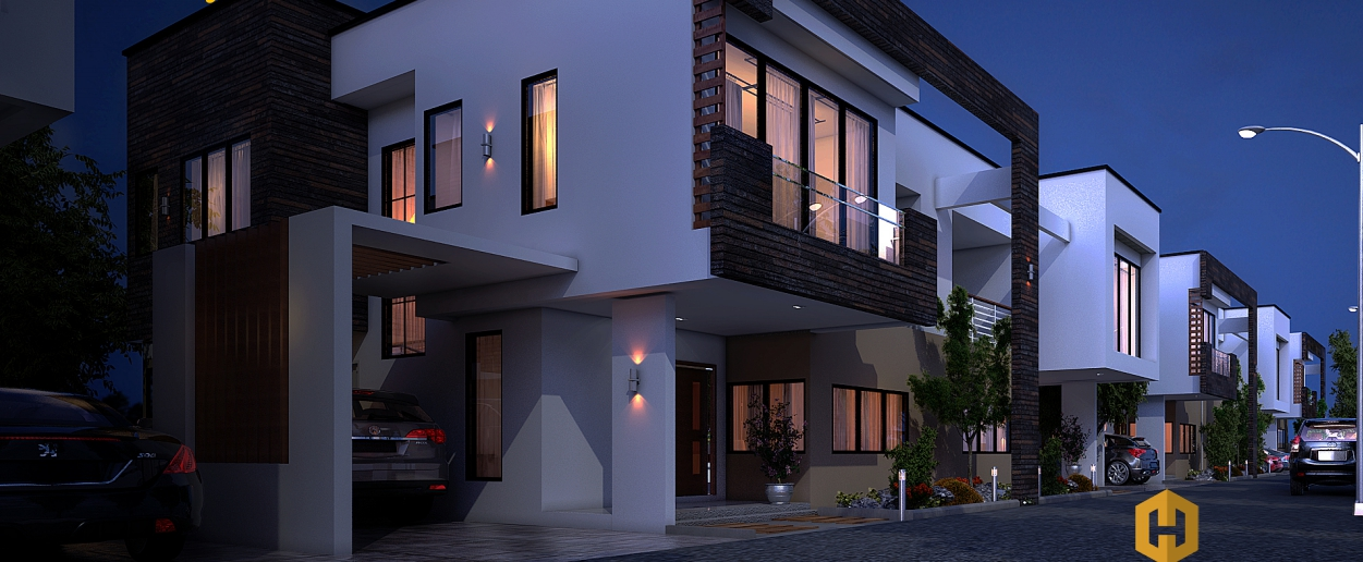 3 BEDROOM SEMI-DETACHED TOWNHOUSE FOR SALE AT AIRPORT AREA