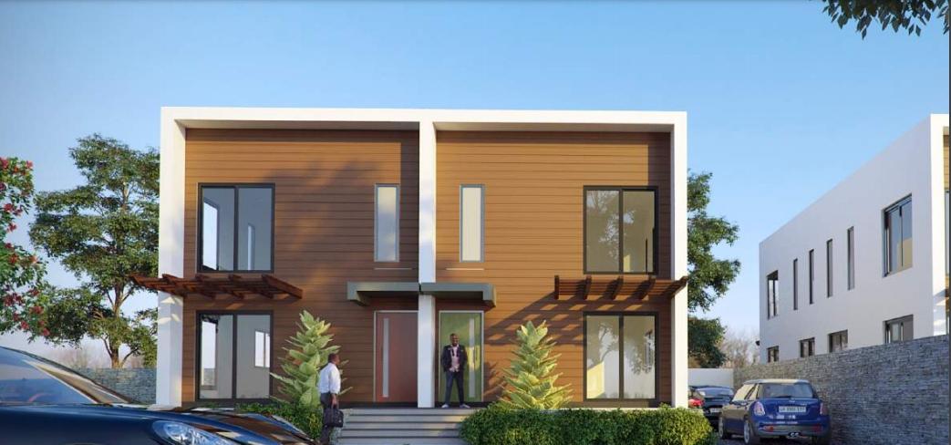 3 BEDROOM SEMI-DETACHED HOUSE FOR SALE AT EAST LEGON HILLS
