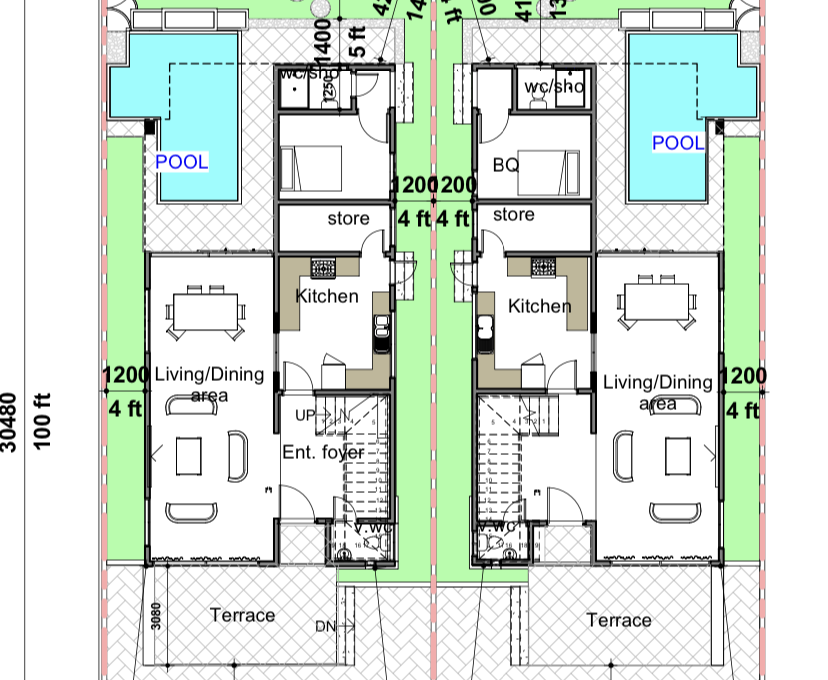 Nelsons square phase 2. GF plan